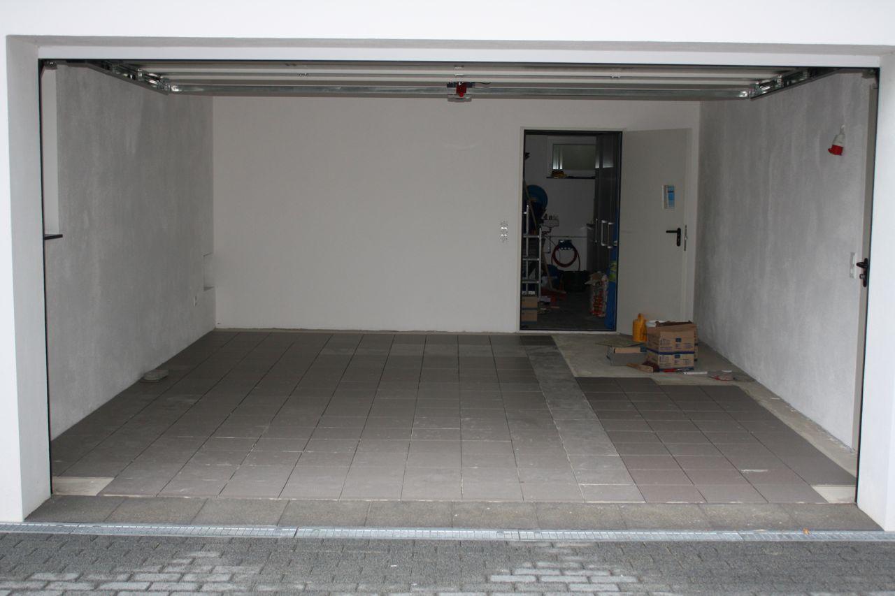 ilfer bau: garage fliesen 2.0